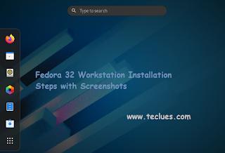 Fedora 32 Installation