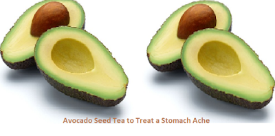 Avocado Seed Tea to Treat a Stomach Ache
