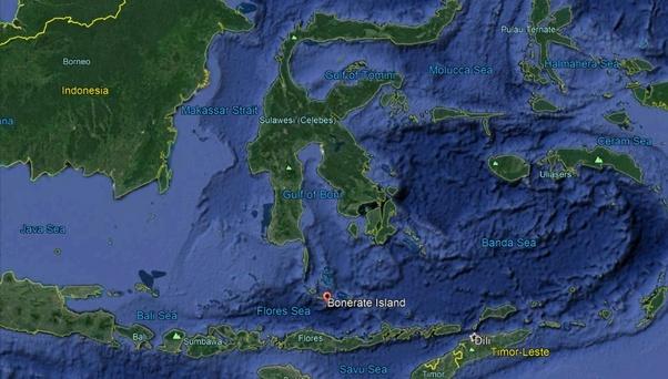 Pulau ditemukan Drone bawah laut