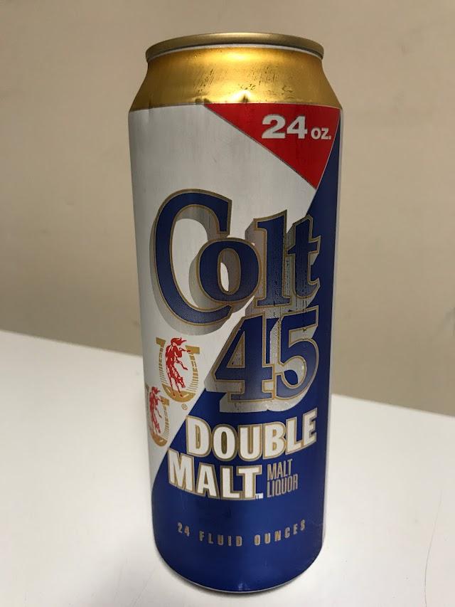 Malt Liquor Of The Week - Colt 45 Double Malt