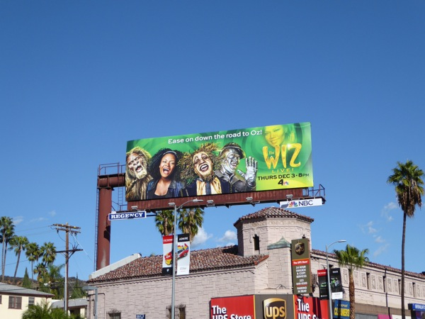 The Wiz Live 2015 billboard
