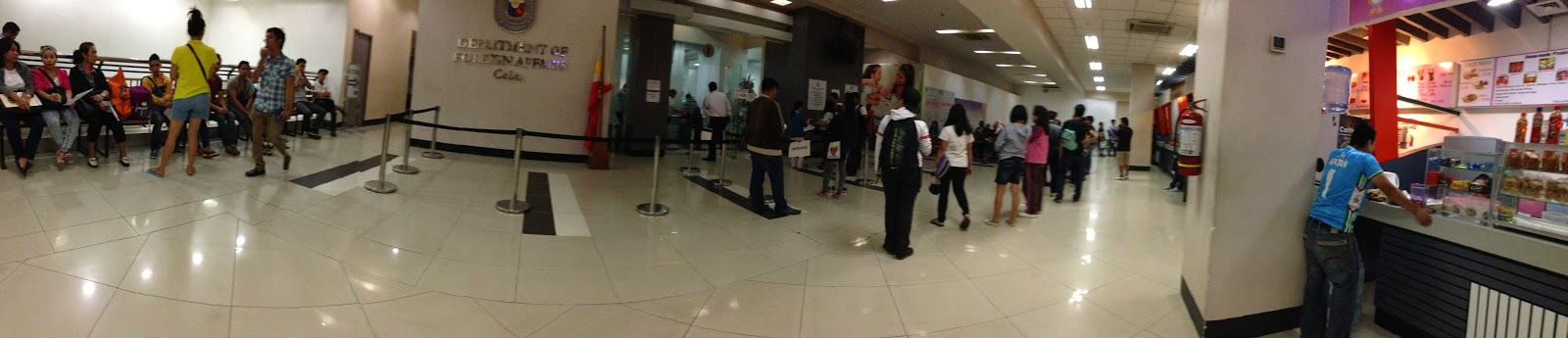 FTW! Blog, DFA, Pacific Mall, Mandaue, DFA Cebu, How to get a passport
