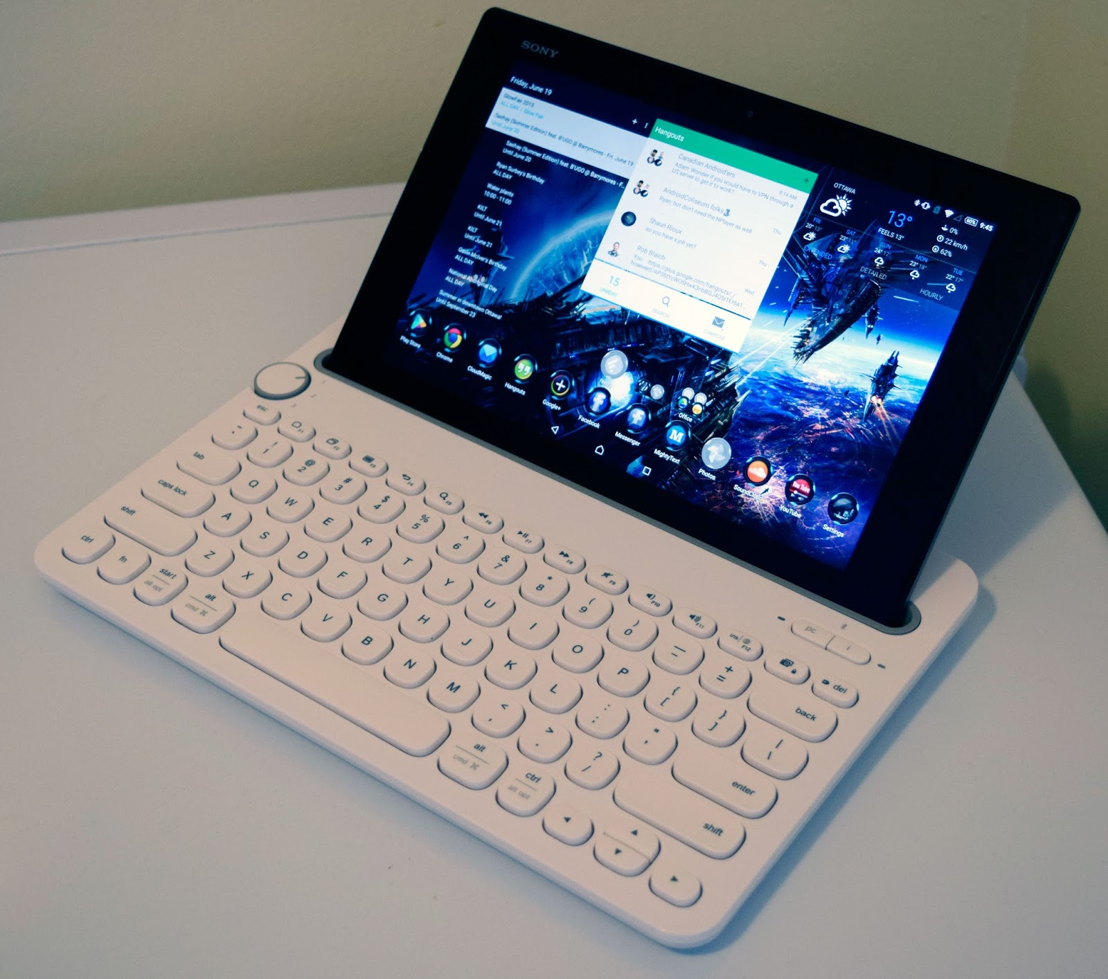 Review Ultimate Tablet Smartphone Accessory Logitech K480 Keyboard Bluetooth