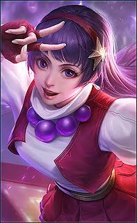 Guinevere Athena Asamiya Heroes Fighter Mage of Skins V2