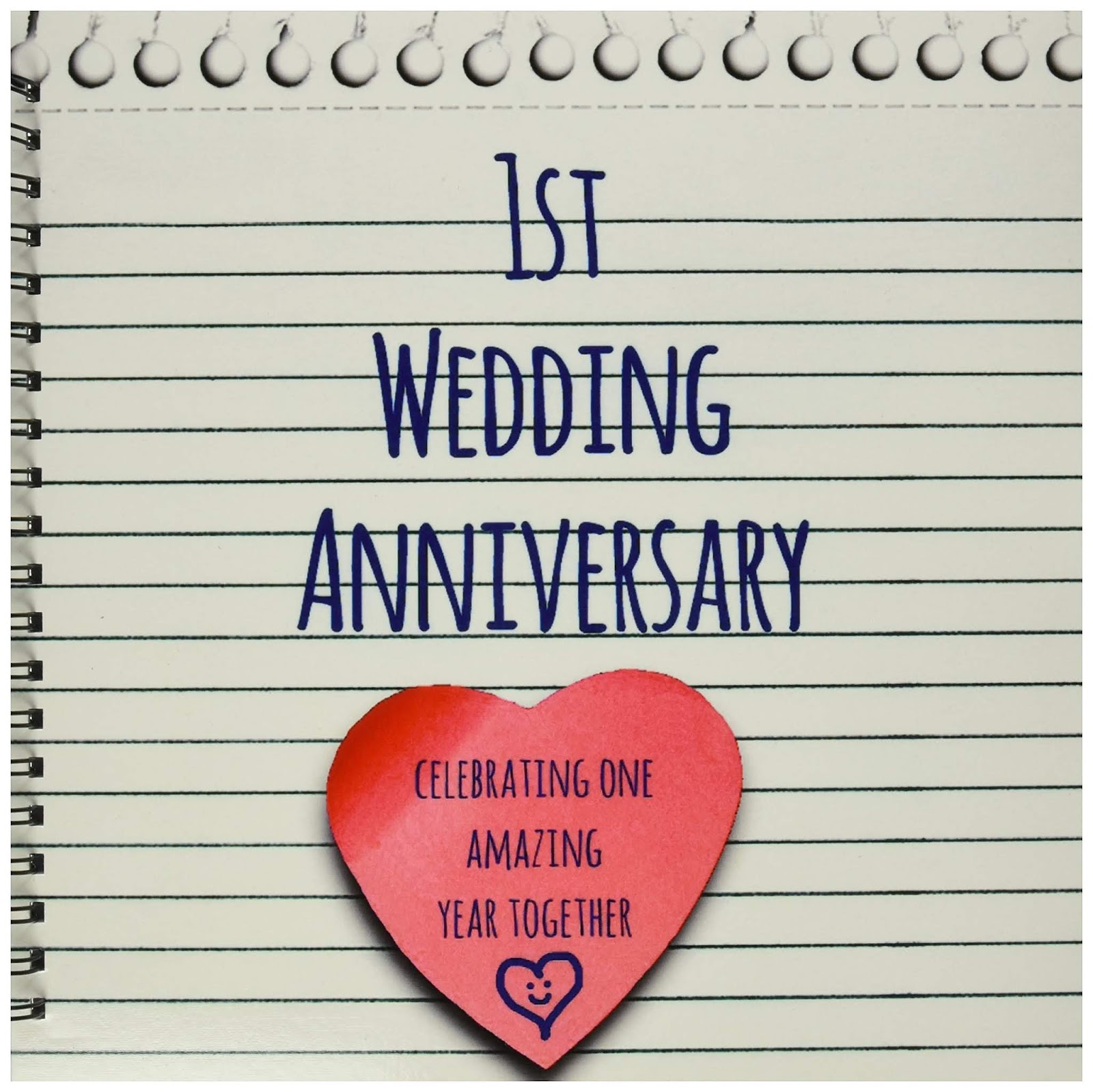Ideas To Celebrate Wedding Anniversary: 1st Wedding Anniversary Celebration Ideas