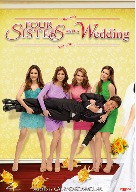 Four Sisters And A Wedding (2013) HDRip