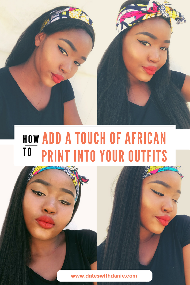 add african print to your outfits