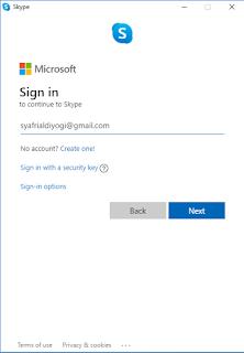 Langkah-langkah melakukan teleconference dengan skype di Laptop