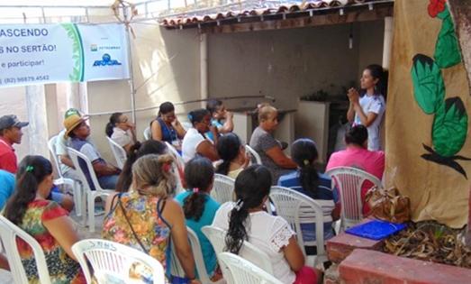 Encontro da Rede Renascendo de Educação Ambiental em Inhapi