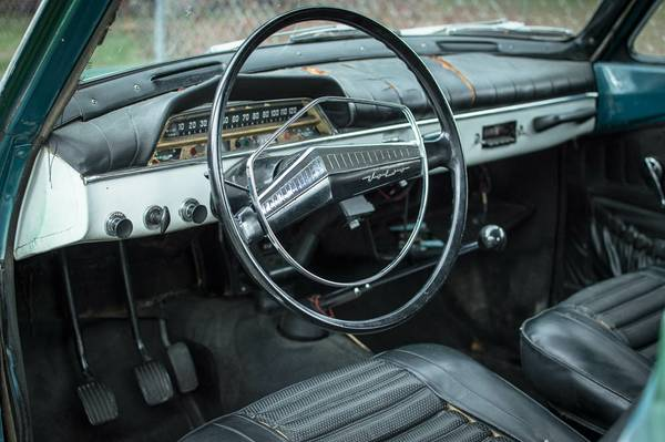 1967 Volvo 122S Amazon Coupe Interior