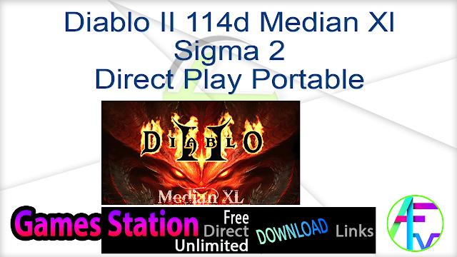 Diablo II 114d Median Xl Sigma 2 Direct Play Portable | 2.46 GB