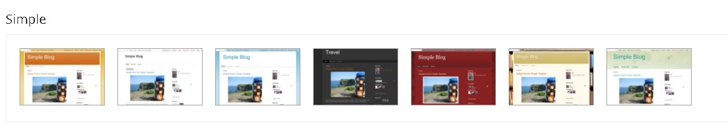 memilih template blogspot untuk pemula desain simple