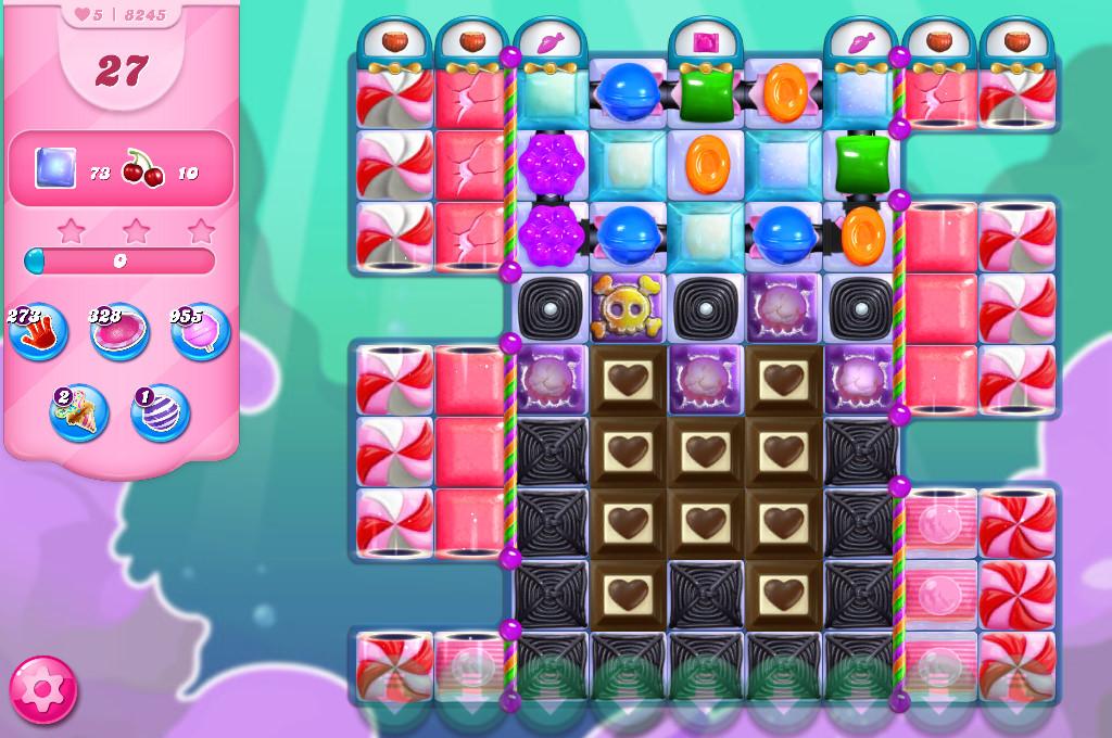 Candy Crush Saga level 8245