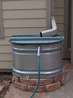The Bicycle Garden Setting Up A Galvanized Stock Tank As