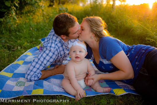 Baby Rolls and Tiny Toes {6 month Family session}