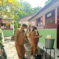 TNI-Polri Monitoring Pembelajaran Tatap Muka di Samosir