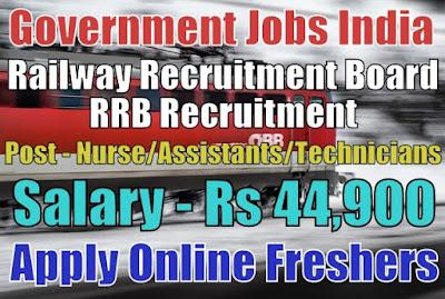 Railway RRB Recruitment 2019