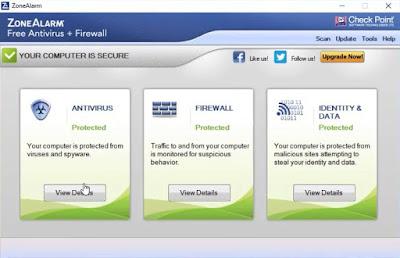 برنامج ZoneAlarm Free Antivirus