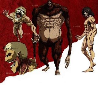 進撃の巨人『九つの巨人』 | 始祖の巨人 | 戦鎚の巨人| Attack on Titan | Nine Titan | Hello Anime !