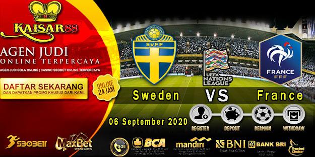 Prediksi Bola Terpercaya ajang UEFA Nations Sweden vs Prancis 06 September 2020