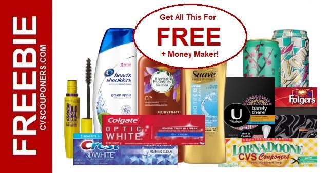 CVS Must Do Freebie Deal 1124-1130