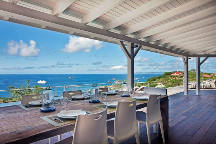 Governuer Island, St. Barts Ocean villa