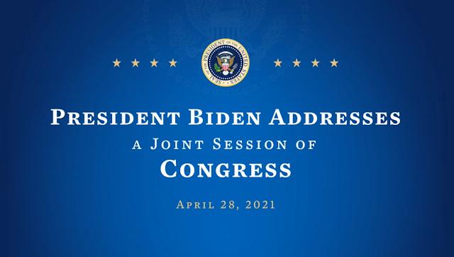 Joe Biden Addresses a Joint Session of Congress, April 28, 2021