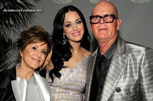 Katy Perry y sus padres