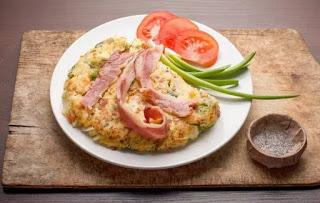 Жаркое с овощами и копченой пикшей