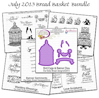 Our Daily Bread Designs 2013 July Bread Basket Bundle