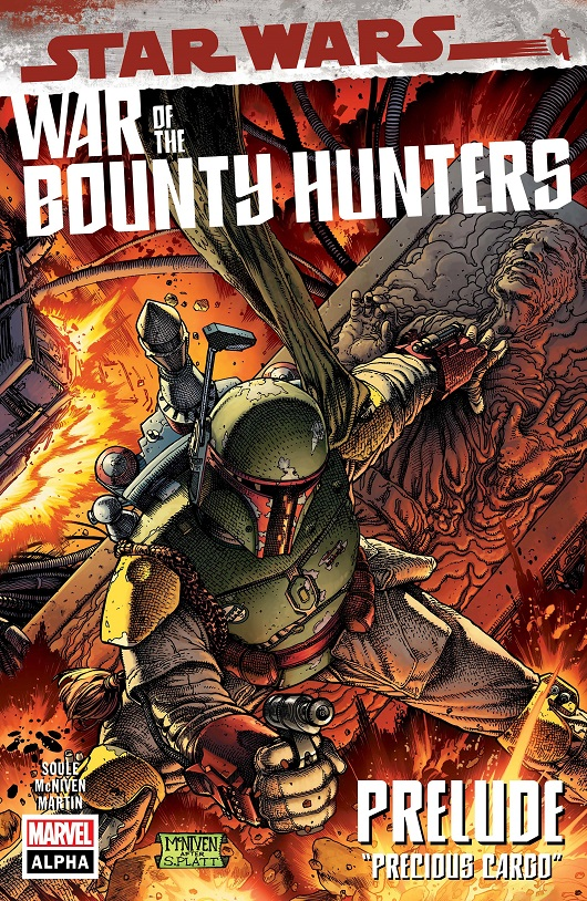 Cover of Star Wars: War of the Bounty Hunters