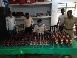 पुलिस के हत्थे चढ़ा शराब माफिया अशोक, एसपी मीनू के निर्देश पर हुई कार्रवाई