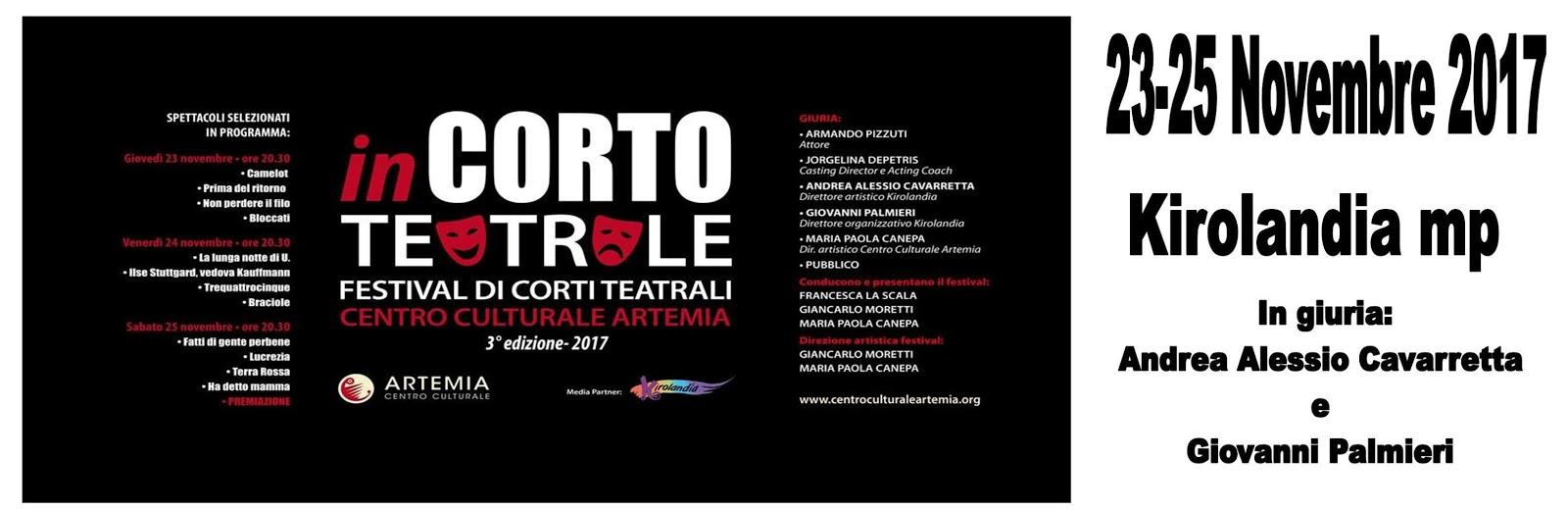 InCorto Teatrale III ed.