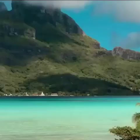 Bora Bora ❤️  Vídeo @missangievilla