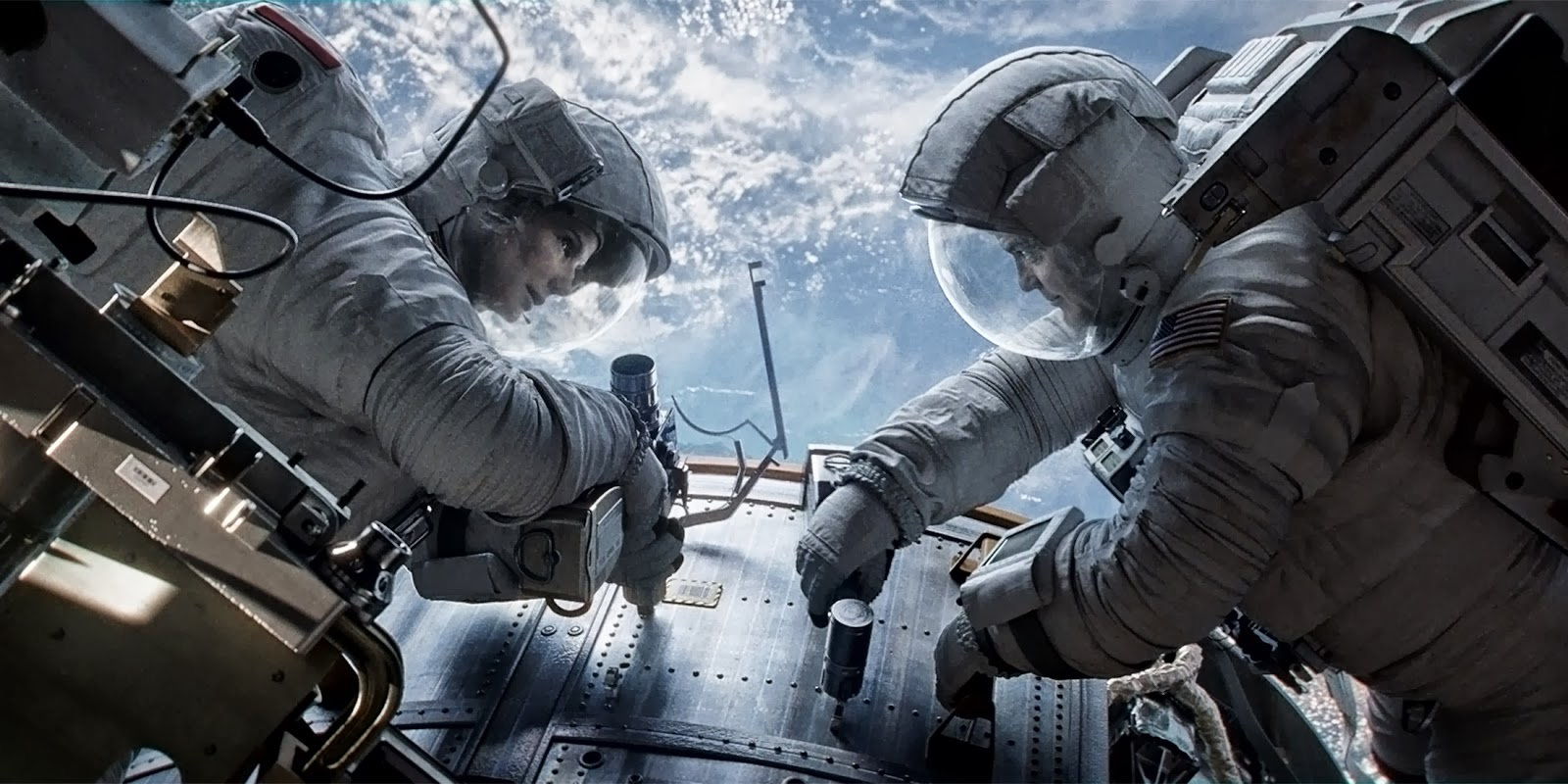 Resultado de imagen de GRAVITY THE FILM  AND THE MOON