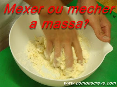 Mexer ou mecher?