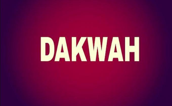 DAKWAH ADALAH JALANNYA PARA RASUL DAN PENGIKUTNYA