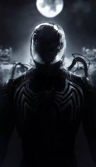 venom spiderman wallpaper