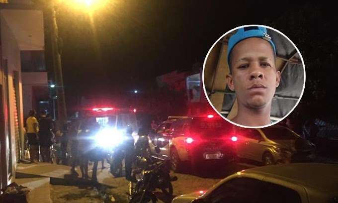 Jovem é assassinado a tiros na cidade de Capim Grosso
