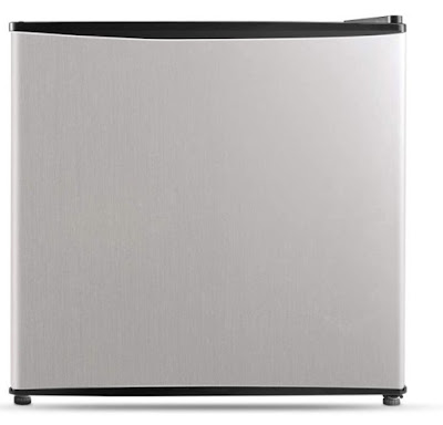 Compact Refrigerator Stainless Steel Midea WHS-65LSS1