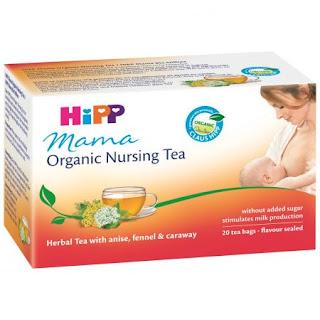 Ceai organic Hipp care ajuta lactatia