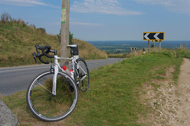 Top of Ditchling Beacon looking north