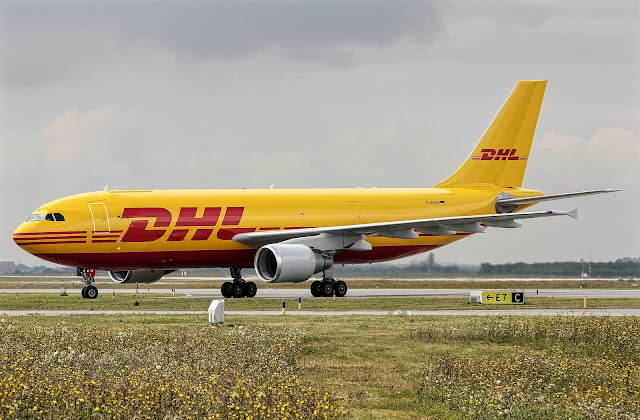 Airbus A300-600F Freighter EAT Leipzig Taxiing