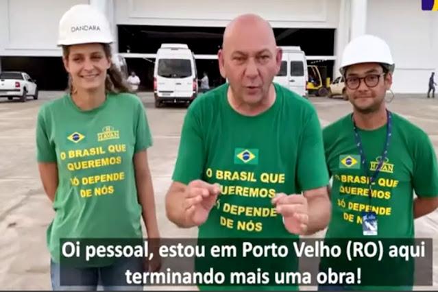 Vistoriando loja em Porto Velho, Luciano Hang é anunciado para depor na CPI