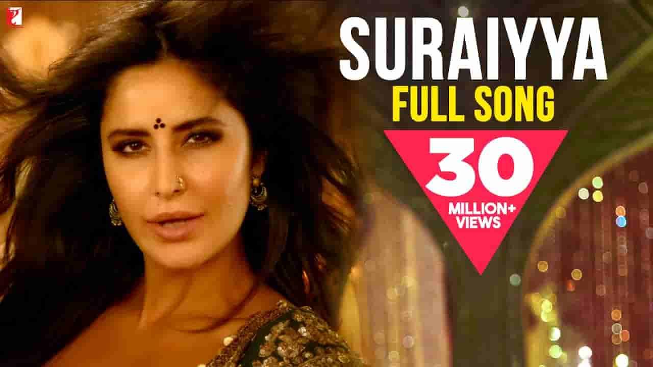 सुरैय्या Suraiyya lyrics in Hindi Thugs of hindostan Vishal Dadlani x Shreya Ghoshal Bollywood Song