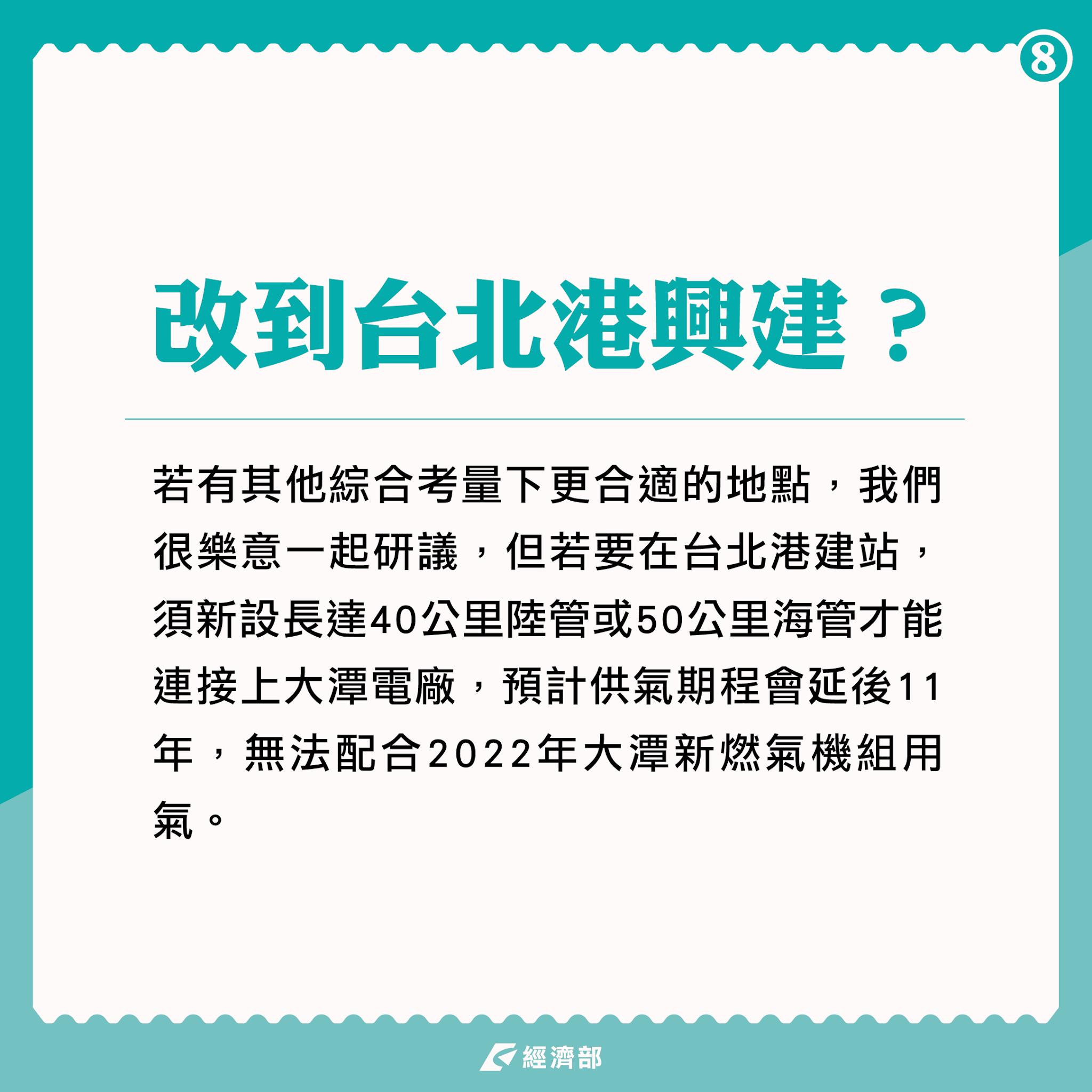 改到台北港興建?
