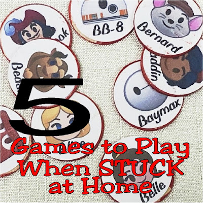 Discover 5 games to play when stuck at home during your Stay-cation or while self isolating with the family.  Your kids will love having something new to do and you'll love the easy and quick moments with your family.