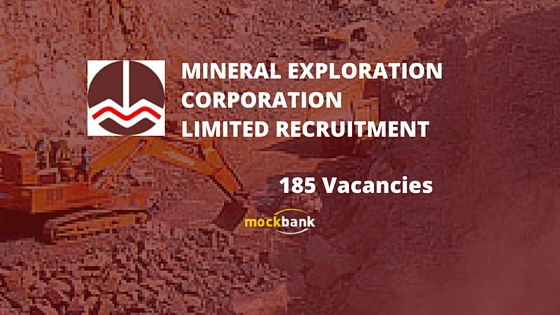 MECL Recruitment 2017 Job Vacancy for Senior Manager, Assistant Manager, Foreman and more 186 vacancies - Apply Online