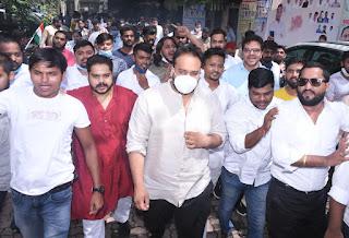 मुंबई युवक कांग्रेस अध्यक्ष बने जीशान सिद्दीकी   #NayaSaberaNetwork