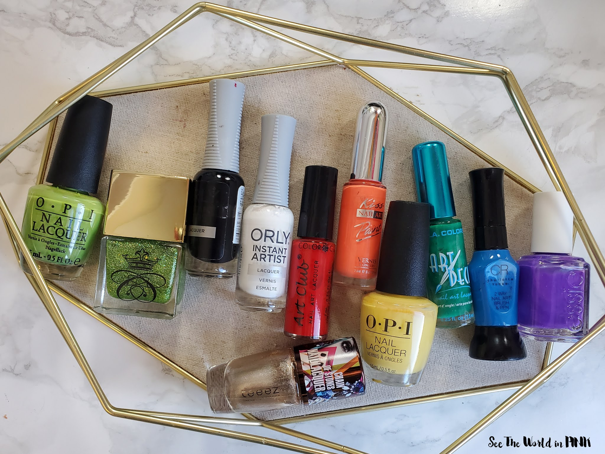 Manicure Monday - Pot of Gold Nails
